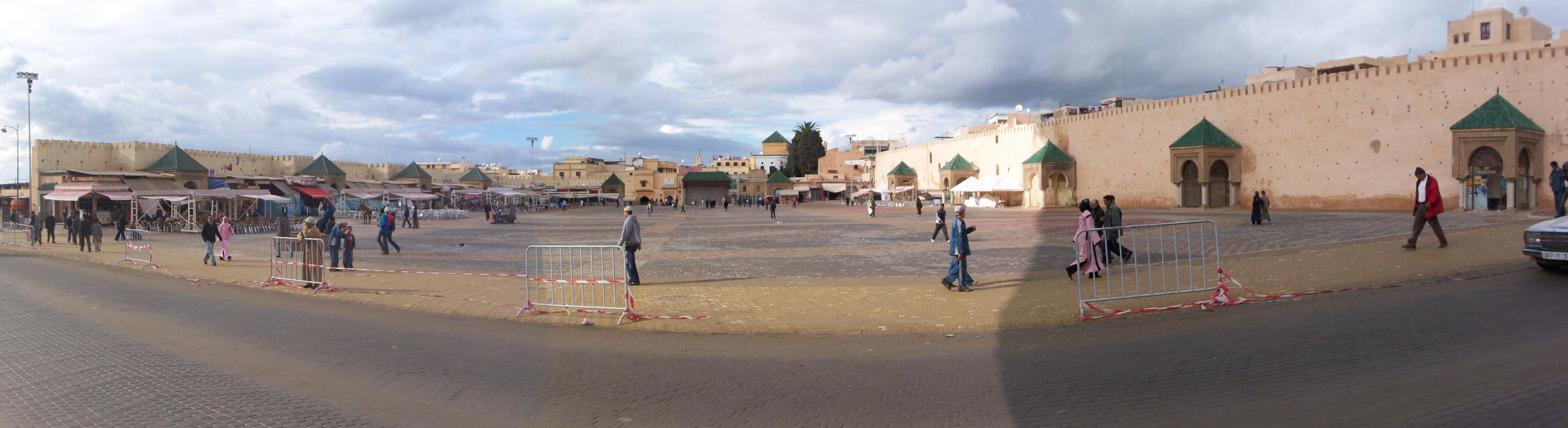 Meknès place El-Hedim